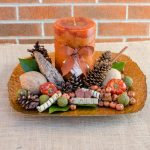 Pumpkin Spice Centerpiece